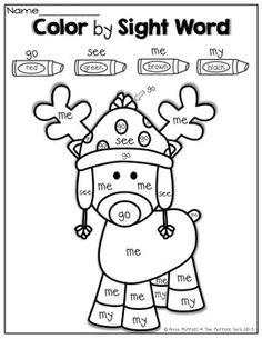 CHRISTMAS NO PREP PACKET (KINDERGARTEN) - TeachersPayTeachers.com