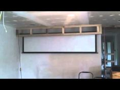 Projector screen - YouTube