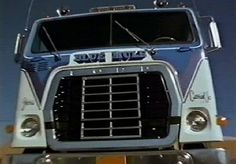 "Top thing to buy someday, 1974 Ford WT-9000 from White Line Fever, It was called the ""Blue Mule"" My dream vehicle"