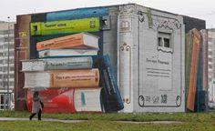 murales St. Petersburg