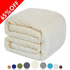 Balichun Luxury Fleece Blanket 330 GSM Super Soft Warm Fuzzy Lightweight Blankets Couch Throw Twin/Queen/King Size(Queen, Ivory) >>> Continue with the details at the image link. Couch Blanket, Couch Throws, Sofa Couch Bed, Wool Blanket, Polar Fleece Blankets, Soft Blankets, Master Room, Queen Size, King Size