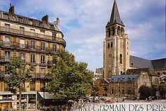 The streets of Saint Germain des Pres are quiet and quaint, with good restaurants and cafes, bookshops, art galleries and antique shops. Saint Germain des Pres is the oldest church in Paris.