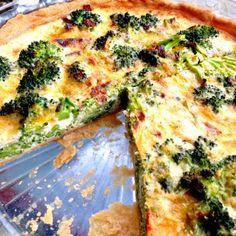 Broccoli Cheddar Quiche Recipe