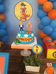 Dragon Ball Z, Dbz, Birthday Cake, Desserts, Food, Dragons, Dragon Dall Z, Tailgate Desserts, Deserts