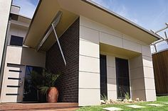 Scyon matrix cladding by James Hardie Exterior Color Schemes, Colour Schemes, Interior Cladding, External Cladding, St Kilda, Home Reno, Facade, New Homes, Architecture