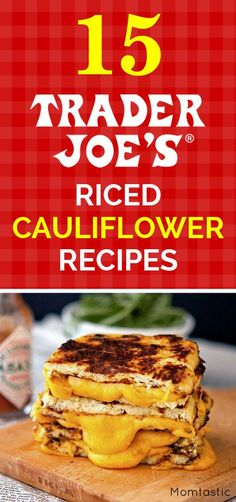 "— 3 ""Diet Foods"" Guaranteed to Sabotage Your Health – Carla May Don't Be Duped! — 3 ""Diet Foods"" Guaranteed to Sabotage Your Health 15 of the Best Trader Joe's Riced Cauliflower Recipes Riced Cauliflower, Cauliflower Recipes, Veggie Recipes, Low Carb Recipes, Vegetarian Recipes, Cooking Recipes, Healthy Recipes, Riced Califlower Recipes, Parmesan Cauliflower"