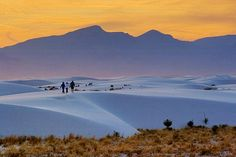 White Sands, Alamogordo NM...