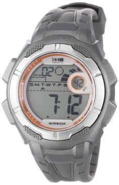 Timex Mens T5K594 1440 Sports Digital FullSize Gray Resin Strap Watch ** Check out this great product.Note:It is affiliate link to Amazon.