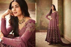 Salwar Kameez New Indian Party Wear Embroidery Designer Anarkali Salwar Suit KF
