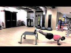 This video demonstrates the Decline Mountain Climbers with Press Ups, a great body weight cardio-core exercise. Press Ups Exercise, Mountain Climbers, Body Weight, Cardio, Core, Fitness, Keep Fit, Cardio Workouts, Rogue Fitness