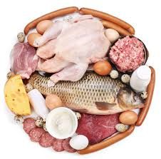 How Much Protein Do You Need? Science Weighs In - Healthy Eating, nutrition, Food, protein High Protein Recipes, Protein Foods, Whey Protein, Food To Gain Muscle, Muscle Building Foods, Build Muscle, Diet Plateau, Whole Foods, Fish And Meat