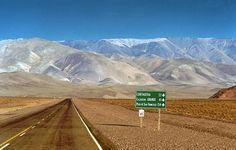 La ruta al Paso de San Francisco, Catamarca - Argentina
