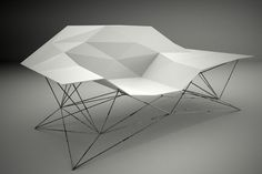 Flux (bench) by Jacobo Blandón, via Behance