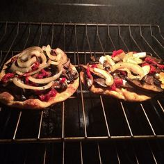 Mushroom Flatbread — This recipe is so tasty and incredibly easy to make!