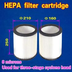16.00$  Buy here - http://ali72q.shopchina.info/go.php?t=32789921172 - HEPA filter cartridge 210*250 (Used for three-stage cyclone head )  1 piece 16.00$ #magazineonline