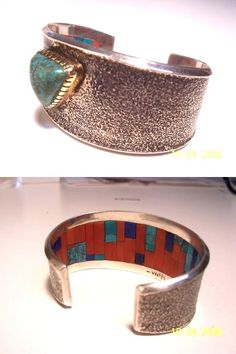 https://flic.kr/p/8zgaFp | Charles Loloma | A Charles Loloma inner-beauty cuff, private collection.
