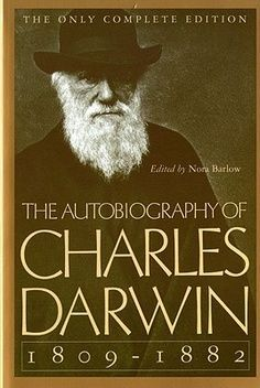 'The Autobiography of Charles Darwin: by Charles Darwin (Author), Nora Barlow (Editor) Charles Darwin Biography, Robert Darwin, Books To Read, My Books, David Livingstone, Theory Of Evolution, Books For Moms, Thing 1, Book Authors