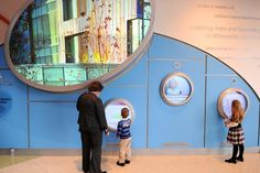 "Human-centric"" design makes health care friendlier - Gesunder Lebensstil Kids Nutrition, Health And Nutrition, Health And Wellness, Clinic Design, Healthcare Design, Interactive Walls, Interactive Design, Health Facts, Health Quotes"