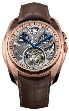 Tourbillon Monopusher Chronograph Mechanical Skeleton Watch For Men