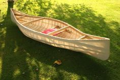 Ideas for the roof, see how to build the skin on frame canoe on this page. the canvas gets painted a beautiful red. built without instructions, so use Hillary's methods instead