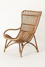 Neat screen porch chair (ottoman also available).