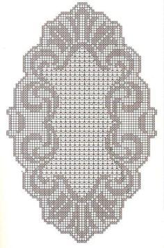 Deckchen oval