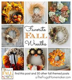 Favorite Fall Wreaths