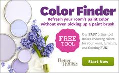 Easy online too makes choosing colors for your walls, furniture and flooring FUN