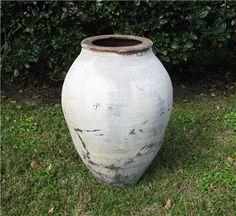 Vintage Turkish Oil Jar Moss Garden, Green Garden, Olive Jar, Outdoor Pots, Liquid Gold, Olive Tree, Flower Boxes, Montenegro, Ceramic Bowls
