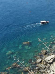 Sicily's sea! Awesome! Isola Bella, Italy.