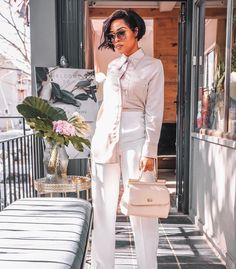 Ausi why ole serious? Stylish Work Outfits, Classy Outfits, Cute Outfits, Queen Fashion, Black Girl Fashion, High Fashion, Bougie Black Girl, Latest Fashion For Women, Womens Fashion