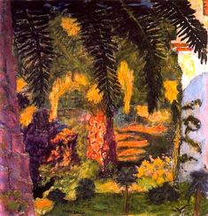 Pierre Bonnard - Le Palmier au Cannet