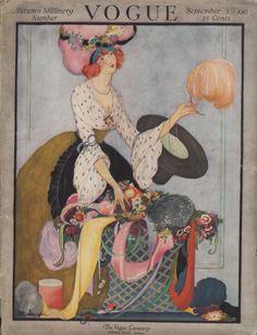 * VOGUE Autumn Millinery Number september 1917 by Rita Senger