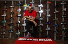 Forget stocks. Sneaker futures are making Wall Street look like a swap meet. High-end kicks are becoming the currency of choice in New York, and one 16-year-old is taking advantage of the trend — u...