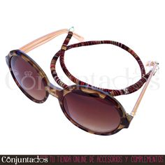 Irresistible #cordón para #gafas #unisex de estilo #étnico - Modelo #Dakar en los tonos ocres del desierto es muy combinable ★ 5,95 € en http://www.conjuntados.com/es/otros/cordones-para-gafas.html ★ #novedades #cuelgagafas #eyewear #sunglasses #gafasdesol #cord #lowcost #fashion #moda #mode #cotton #algodon #conjuntados #conjuntada #accesorios #complementos #fashionadicct #picoftheday #style #GustosParaTodas #ParaTodosLosGustos