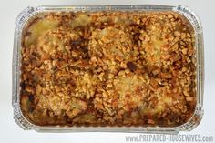 This is my go-to meal because it's fast, fail-proof, & everyone loves it. I always have a few tucked away in my freezer and have enough ingredients in my food storage to make it all year long!|Prepared-Housewives.com #recipe #freezermeal #foodstorage