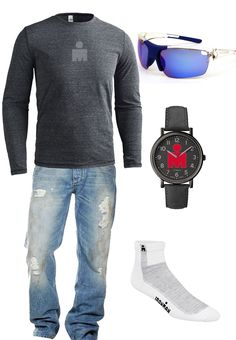 IRONMAN Men's casual outfit