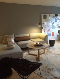 Ny farve på væg samler rummet