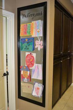 15 способов организации выставки детских рисунковHome Life Organization