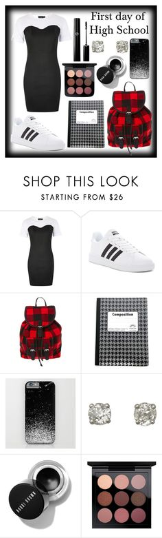 """First Day of High School"" by kitty-cat130 ❤ liked on Polyvore featuring Topshop and adidas"