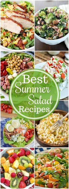 The BEST Summer Salad Recipes