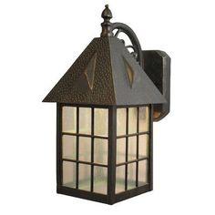Melissa Kiss Series 1 Light Outdoor Wall Lantern