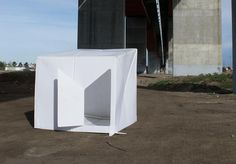 This Plastic Sheet Morphs Into A Disaster Shelter In 2 Minutes | Co.Exist | World changing ideas and innovation
