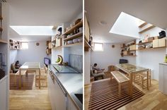 Casa estrecha de madera - Noticias de Arquitectura - Buscador de Arquitectura