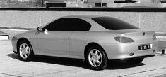 Peugeot 406 Coupe (Pininfarina) - Mockup