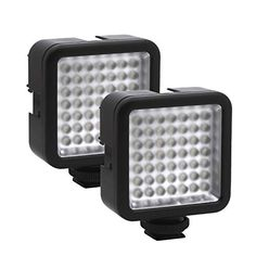 Stand LED Light UTEBIT Dual Flash Bracket with Twin 1//4 Screw Mount and Hot Shoe 2 Pack Video Light Bracket Straight Speedlite Holder for 2 Cameras Compatible Photography Tripod DSLR Studio