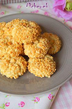 Mchewek gâteau algérien aux cacahuètes