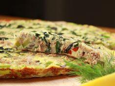 Frittata au thon et aux légumes    | Clover Leaf