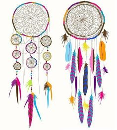 Michelle - dreamcatchers could be used to represent dreams and ambitions.