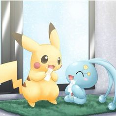 Pikachu e Manaphy